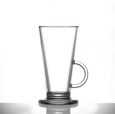 Polycarbonate - Latte Cup Clear (227ml/8oz)