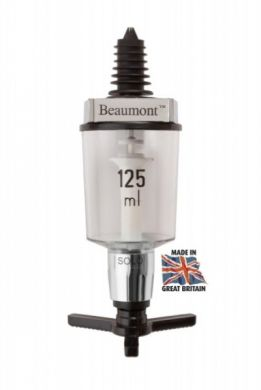 Beaumont Solo Wine Measure Chrome (125ml) CE