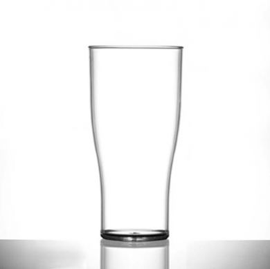 Polycarbonate - Tulip HALF Pint Glass Nucleated (284ml/10oz)