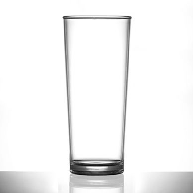 Polycarbonate - Premium PINT Glass Nucleated (568ml/20oz) CE