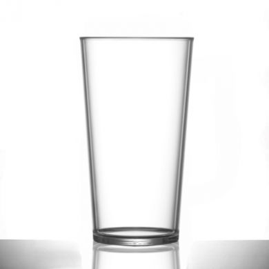 Polycarbonate - Conical PINT Glass (568ml/20oz) CE Marked