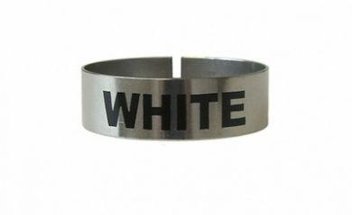 Thimble Identi Clip WHITE
