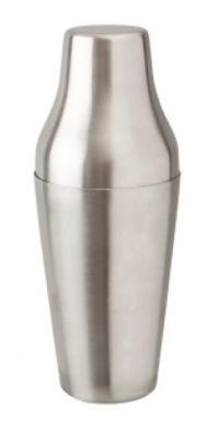 Mezclar - Stainless Steel French Cocktail Shaker (600ml)
