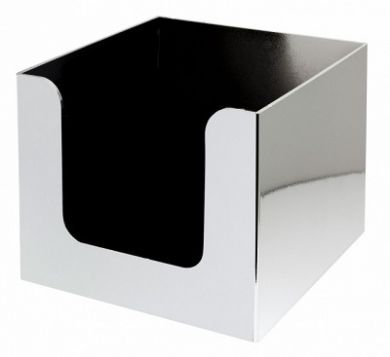 Bar Napkin Caddy - Single Compartment (Chrome Plated)