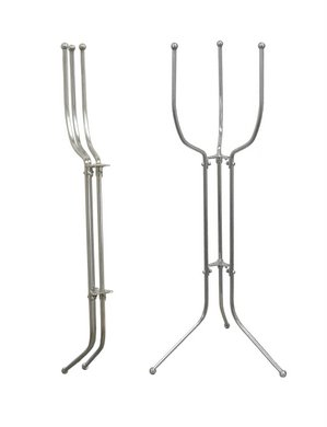 Stainless Steel Space Saver (Folding Bucket Stand)