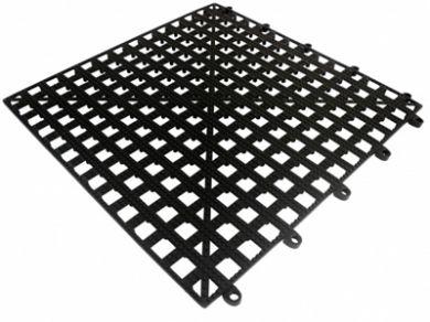 Bar Shelf Tile - 13in x 13in (Black)