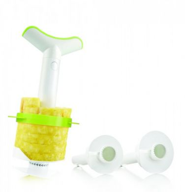 Pineapple Slicer and Wedger - With 3 Sizes of Cutting Blades
