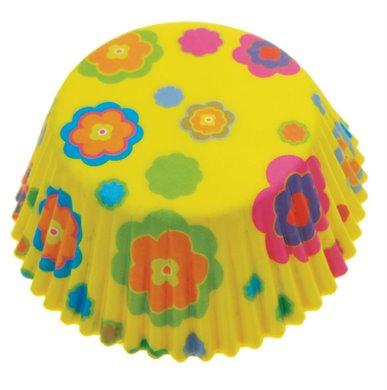 Eddingtons - Flower Power Cupcake - Medium (Pack of 72)