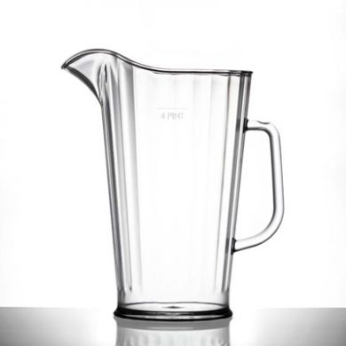 Polycarbonate - Elite 4 Pint Jug (2272ml/80oz) CE Marked
