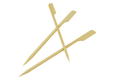 Bamboo Paddle Skewers - 150mm (Pack of 100)