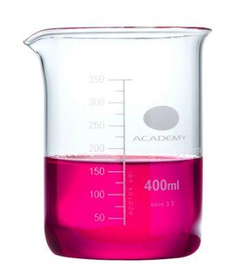 Measuring Beaker - Academy (Borosilicate Glass) 400ml