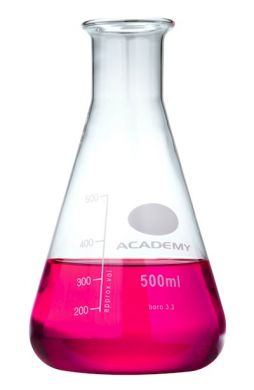 Conical Flask - Academy (Borosilicate Glass) 500ml
