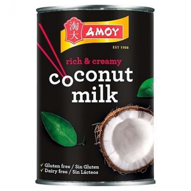 Amoy Coconut Milk - Tin (400ml)