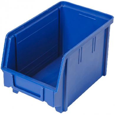 Heavy Duty Parts Bin (Small) Used BLUE - Like New Condition