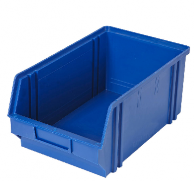 Heavy Duty Parts Bin (Medium) Dark BLUE - Used Like New Cond
