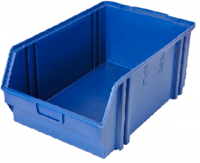 Heavy Duty Parts Bin (Large) Used BLUE - Like New Condition