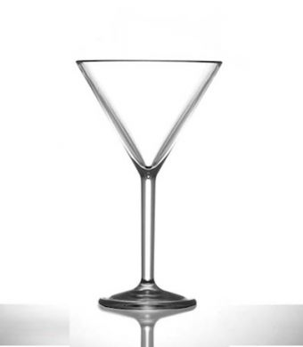 Polycarbonate - Martini Glass 7oz/199ml (Not CE)