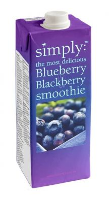 Simply Smoothie Mix - Blueberry & Blackberry (1 Litre)
