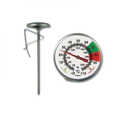 Brannan Milk Jug Thermometer (short version - 125mm)