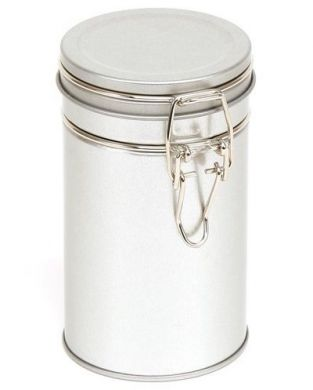 Clip-Lid Canister (850ml) - Silver