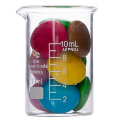 Measuring Beaker - Bar Essentials (Borosilicate Glass) 10ml