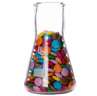 Bar Essentials Conical Flask 250ml - Wide Neck (Borosilicate