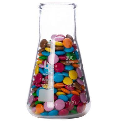 Bar Essentials Conical Flask - Wide Neck (Borosilicate Glass) 300ml