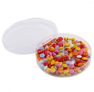 Plastic Petri Dish (90mm) Three Compartment