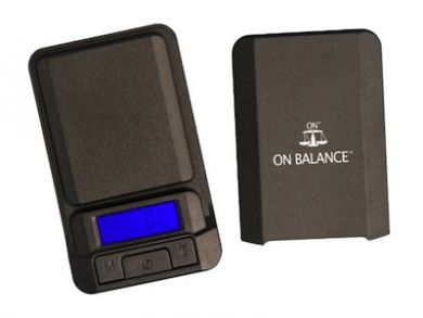 On Balance LS600 Digital Pocket Scale (600g x 0.1g) Inc Batt