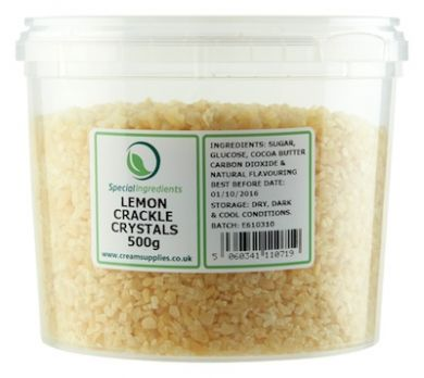 Lemon Popping Candy / Crackle Crystals (500g)