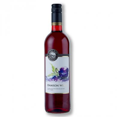 Lyme Bay Devon Wine - Damson Wine (75cl) 11% ABV