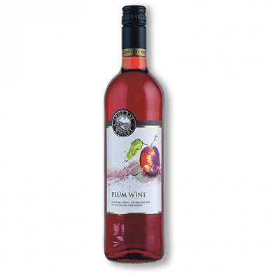 Lyme Bay Devon Wine - Plum Wine (75cl) 11% ABV
