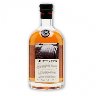 Somerset Cider Brandy - 8 Year Old Shipwreck (50cl) 43% ABV