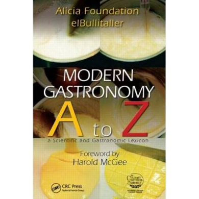 Modern Gastronomy A To Z - Forward by Harold McGee
