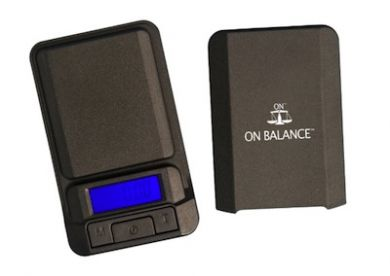 On Balance LS-100 Digital Pocket Scale (100g x 0.01g) Inc Ba