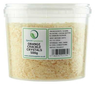 Orange Popping Candy / Crackle Crystals (500g)