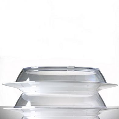 Polycarbonate Clear Plate Cover (220mm x 40mm)