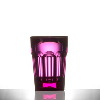 Polycarbonate - Remedy 25ml Shot Red/Pink (CE Marked)