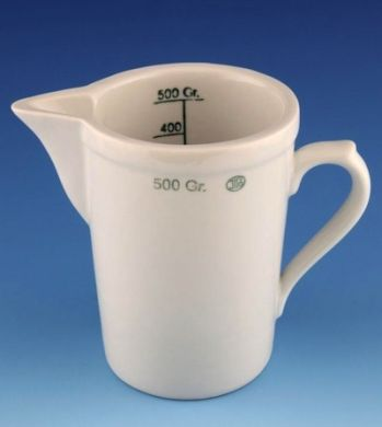 Porcelain Measuring Jug - 1000ml (Image Shows 500ml Version)
