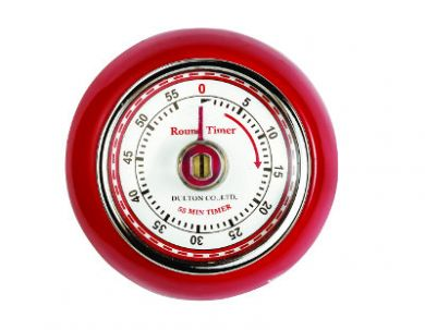 Eddingtons - Magnetic Retro Timer (Red)