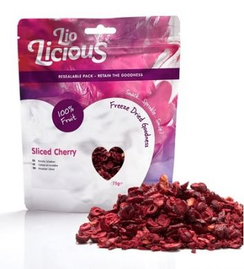 Freeze Dried Sliced Cherries (75g)