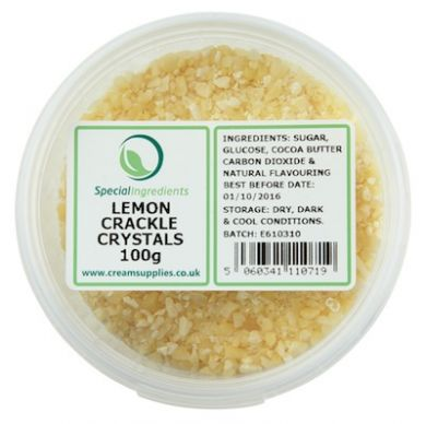Lemon Popping Candy / Crackle Crystals (100g)
