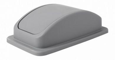 Grey Slim Recycling Bin - Swing LID ONLY
