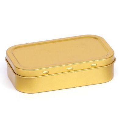 Tobacco Tin - Gold Small (25g/1oz Tin)