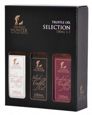 TruffleHunter - Truffle Oil Selection (3 x 100ml)