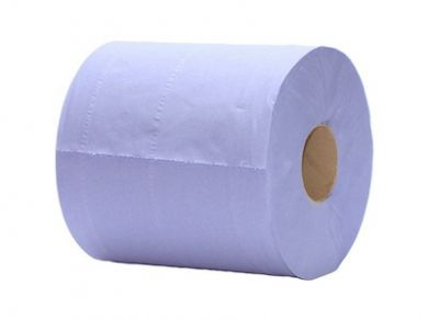 Vegware - Blue Centre Feed Roll 100% Recycled (6-Pack)