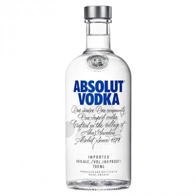 Absolut Blue Vodka (700ml) - 40% ABV