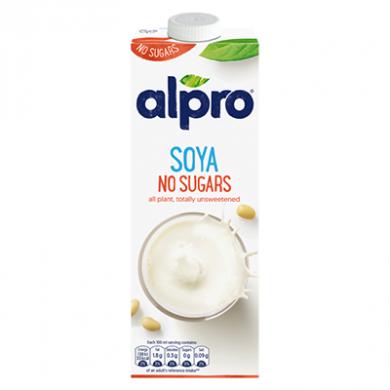 Alpro Soya - No Sugars (1 litre)