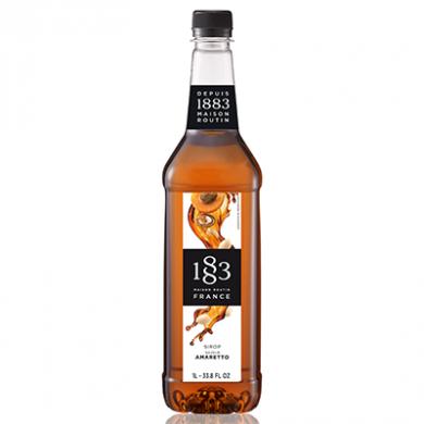 Routin 1883 Syrup - Amaretto (1 Litre) - Plastic Bottle