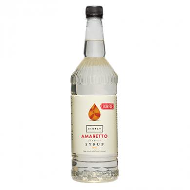 Simply Amaretto (1 Litre) - Sugar Free Syrup